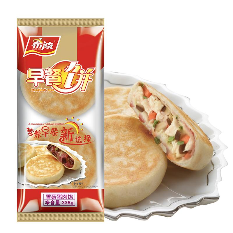 四粒装香菇猪肉早餐饼