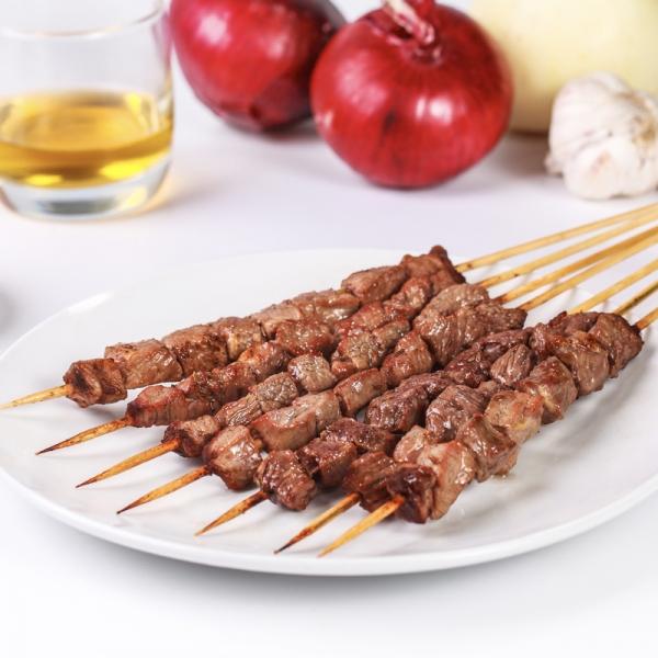 广州麻辣牛肉风味串