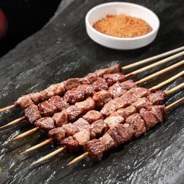 香辣羊肉风味串