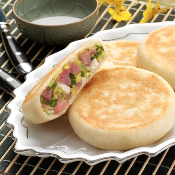 白菜猪肉馅希波饼