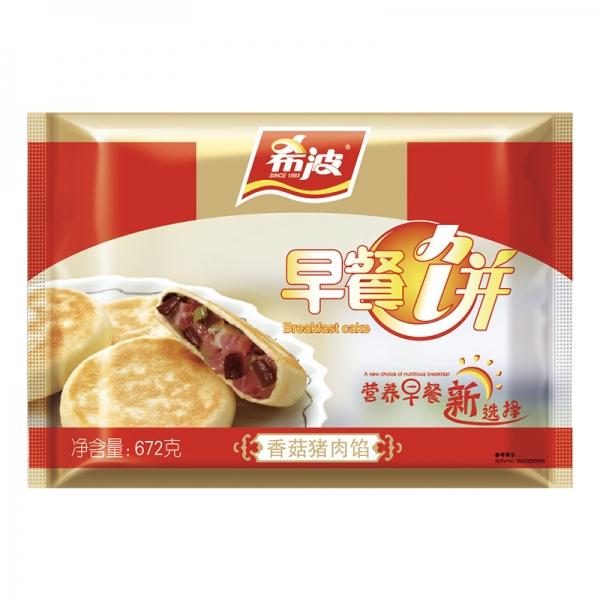 八粒装香菇猪肉早餐饼