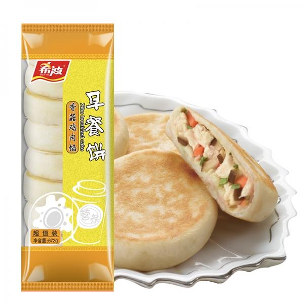 超值装香菇鸡肉早餐饼