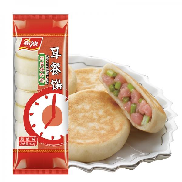 超值装芹菜猪肉早餐饼
