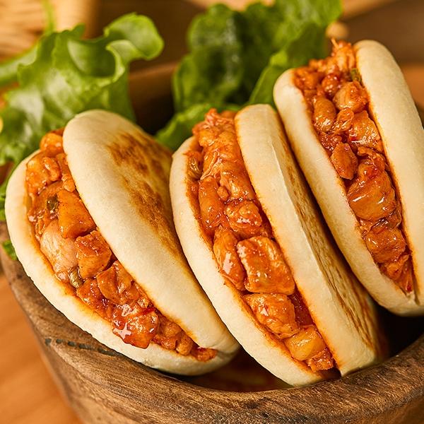 韩式烤肉馅肉夹馍