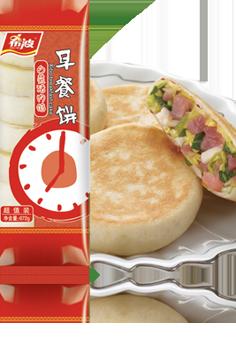 白菜猪肉早餐饼